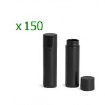 Pachet 150 bucati recipiente  stick negre pentru balsam de buze