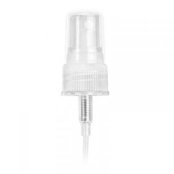 Flacon din plastic PET 50 ml cu pulverizator si capac